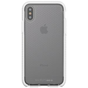 Купить Противоударный чехол Tech21 Evo Check Clear/White для iPhone X