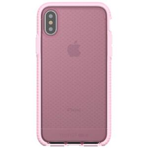 Купить Противоударный чехол Tech21 Evo Check Rose Tint/White для iPhone X