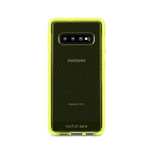 Купить Противоударный чехол Tech21 Evo Check Neon Yellow для Samsung Galaxy S10 Plus