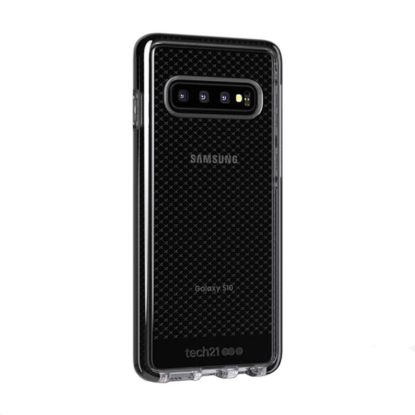 Противоударный чехол Tech21 Evo Check Smokey Black для Samsung Galaxy S10