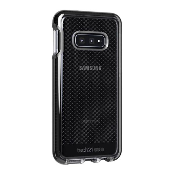 Противоударный чехол Tech21 Evo Check Smokey Black для Samsung Galaxy S10e