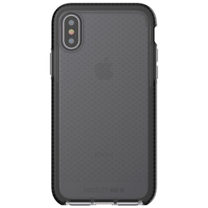 Купить Противоударный чехол Tech21 Evo Check Smokey/Black для iPhone X