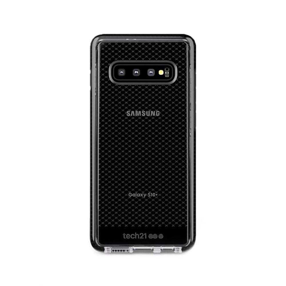 Купить Противоударный чехол Tech21 Evo Check Smokey Black для Samsung Galaxy S10 Plus