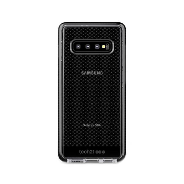 Противоударный чехол Tech21 Evo Check Smokey Black для Samsung Galaxy S10 Plus