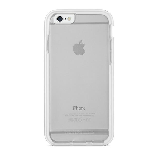 Противоударный чехол Tech21 Evo Elite Silver для iPhone 6/6s