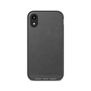 Купить Защитный чехол Tech21 Evo Luxe Faux Leather Black для iPhone XR