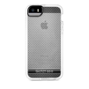Купить Противоударный чехол Tech21 Evo Mesh Clear/White для iPhone 5/5S/SE