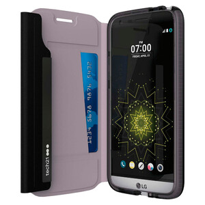 Купить Противоударный чехол Tech21 Evo Wallet Black для LG G5