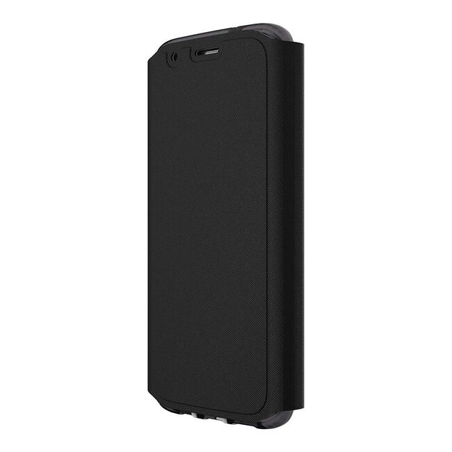 Ультратонкий флип-чехол Tech21 Evo Wallet Black для Samsung Galaxy S7 edge