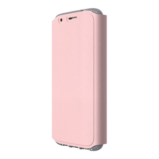 Ультратонкий флип-чехол Tech21 Evo Wallet Pink для Samsung Galaxy S7 edge