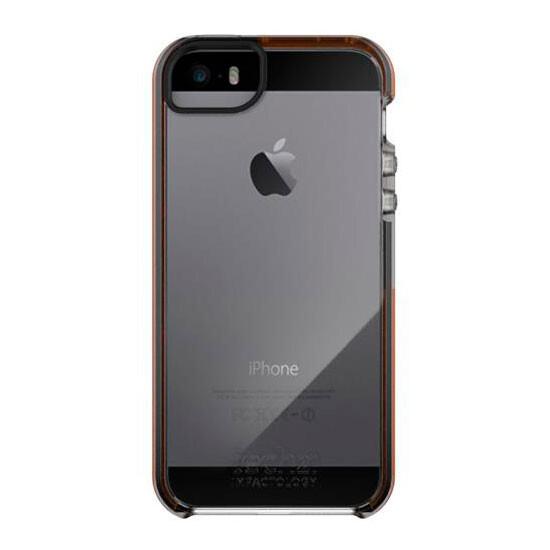 Чехол Tech21 Impact Frame Series Clear/Orange для iPhone 5/5S/SE