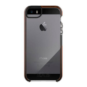Купить  Чехол Tech21 Impact Frame Series Clear/Orange для iPhone 5/5S/SE