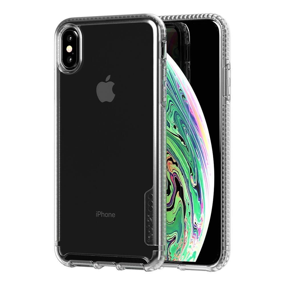 Противоударный чехол Tech21 Pure Clear Clear для iPhone XS Max