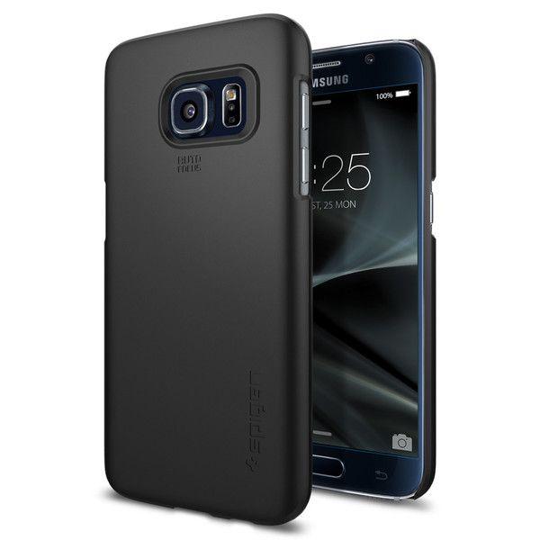 Чехол Spigen Thin Fit Black для Samsung Galaxy S7