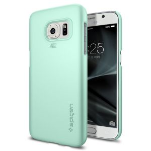 Купить Чехол Spigen Thin Fit Mint для Samsung Galaxy S7