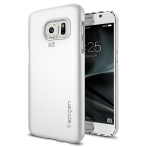 Купить Чехол Spigen Thin Fit Shimmery White для Samsung Galaxy S7