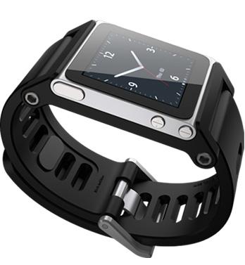 Ремешок-часы Lunatik TikTok Black для iPod Nano 6G