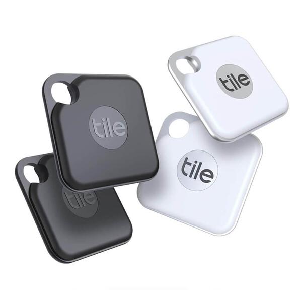 Брелок для поиска вещей | ключей Tile Pro 2020 (4-Pack) (Витринный образец)