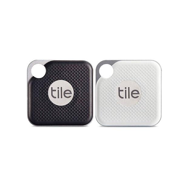 Брелок Tile Pro Replaceable Battery 2-Pack для поиска вещей White | Black