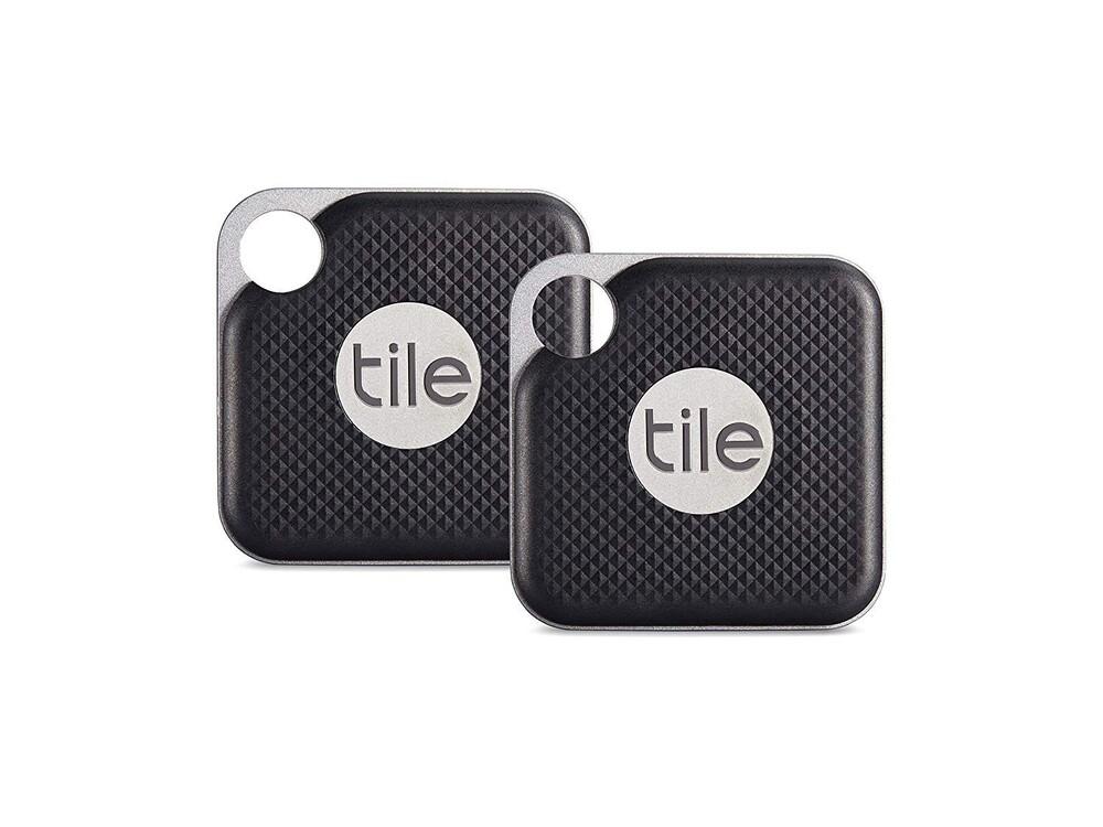 Брелок Tile Pro Replaceable Battery 2-Pack для поиска вещей Black