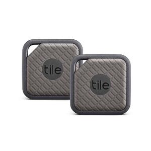 Купить Брелок Tile Sport Pro Series 2-pack для поиска вещей Slate/Graphite
