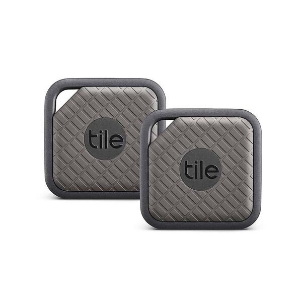 Брелок Tile Sport Pro Series 2-pack для поиска вещей Slate | Graphite