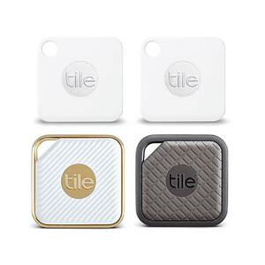 Купить Брелок Tile Assorted 4-pack для поиска вещей