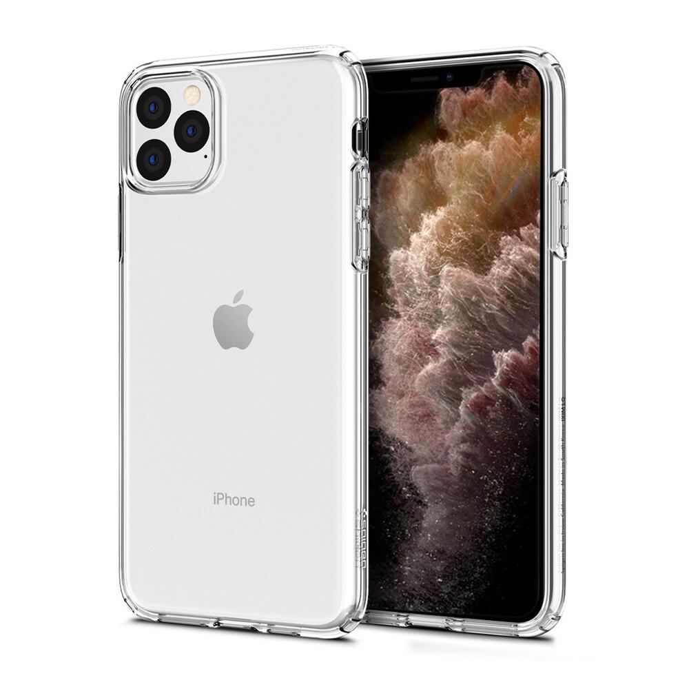 Чехол Spigen Crystal Flex Crystal Clear для iPhone 11 Pro Max