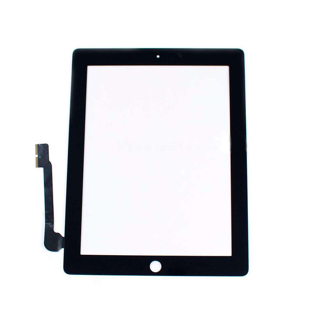 Купить Черный тачскрин (сенсорный экран, оригинал) для iPad 3 | 4