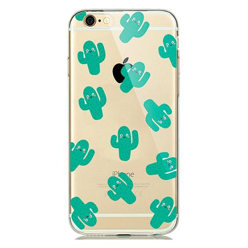Купить TPU чехол oneLounge Cactus для iPhone 5   5S   SE