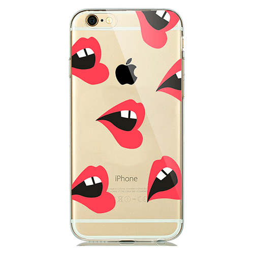 Купить TPU чехол oneLounge Lips для iPhone 5   5S   SE