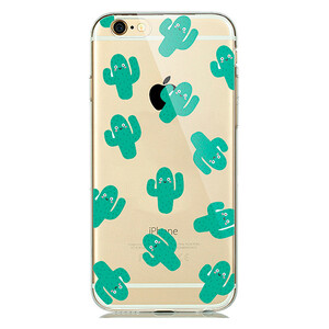 Купить TPU чехол oneLounge Cactus для iPhone 6/6s