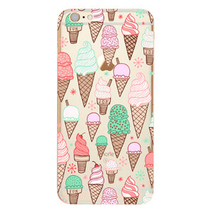 Купить TPU чехол oneLounge Ice Cream для iPhone 6/6s
