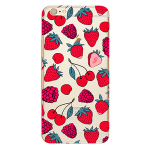 Купить TPU чехол Berries для iPhone 6/6s Plus