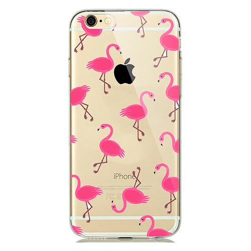 Купить TPU чехол oneLounge Flamingo для iPhone 7 | 8 | SE 2020