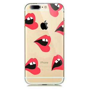 Купить TPU чехол Lips для iPhone 7 Plus