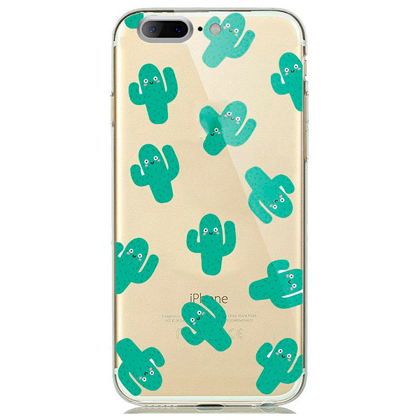 Купить TPU чехол oneLounge Cactus для iPhone 7 Plus   8 Plus