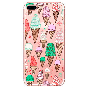 Купить TPU чехол Ice Cream для iPhone 7 Plus