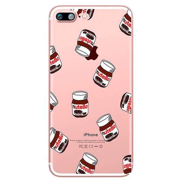 Купить TPU чехол oneLounge Nutella для iPhone 7 Plus   8 Plus