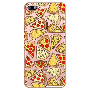 Купить TPU чехол oneLounge Pizza для iPhone 7 Plus/8 Plus