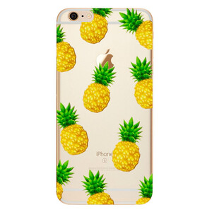 Купить TPU чехол Pineapples для iPhone 6/6s