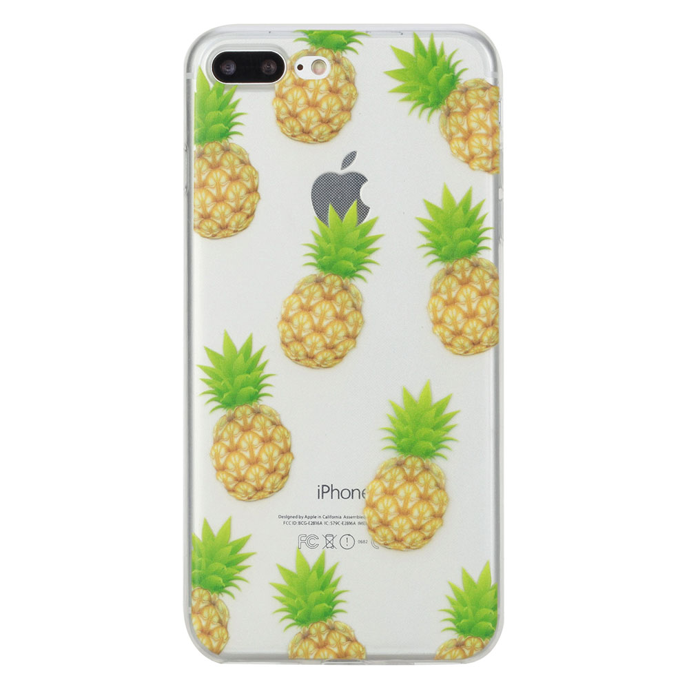Купить TPU чехол oneLounge Pineapples для iPhone 7 Plus | 8 Plus