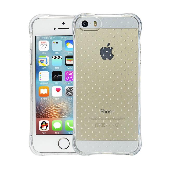 Противоударный TPU чехол Silicol Drop для iPhone 5/5S/SE