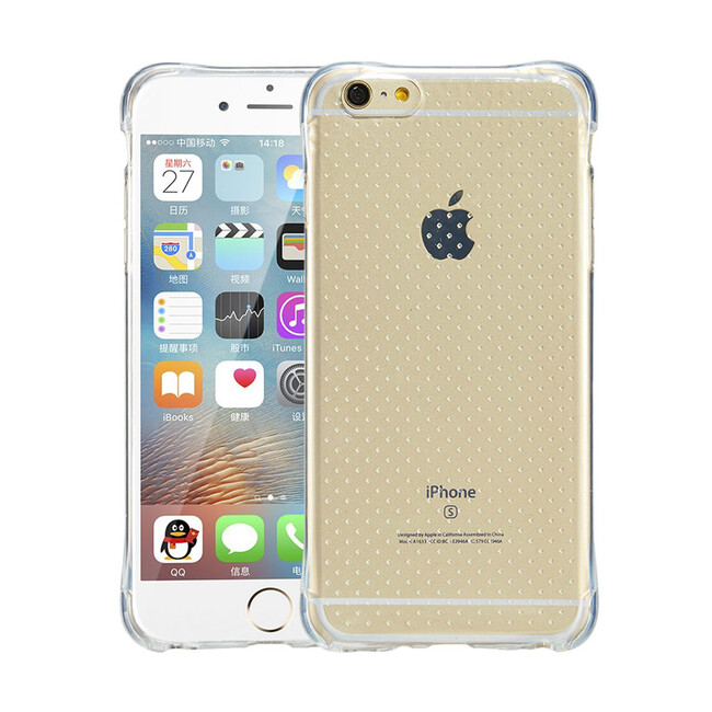 Противоударный TPU чехол Silicol Drop для iPhone 6/6s Plus