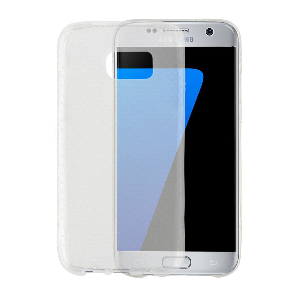 Противоударный TPU чехол Silicol Drop для Samsung Galaxy S7 edge