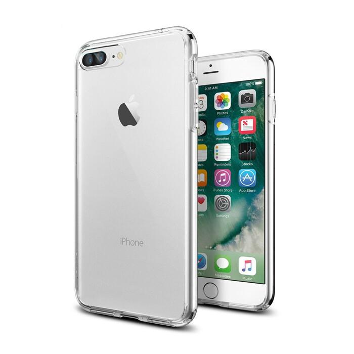 TPU чехол USAMS Kim Series Light Gold для iPhone 7 Plus