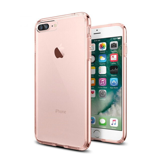 TPU чехол USAMS Kim Series Rose Gold для iPhone 7 Plus