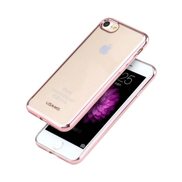 TPU чехол USAMS Kim Series Rose Gold для iPhone 7