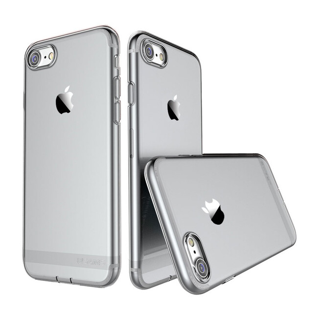TPU чехол USAMS Ultra-thin Stealth Black для iPhone 7