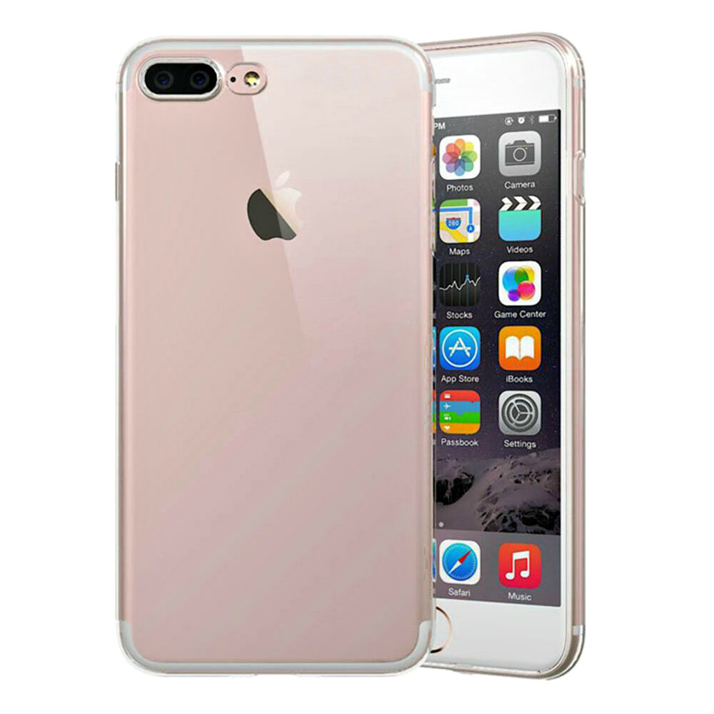 TPU чехол USAMS Ultra-thin Stealth Rose Gold для iPhone 7 Plus/8 Plus